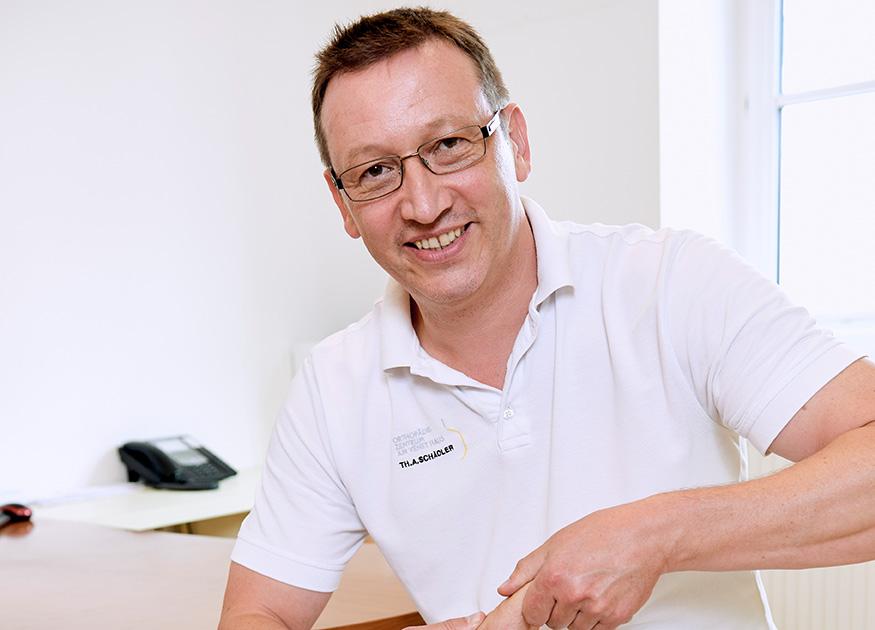 Orthopädiezentrum am Venet Haus –Tätigkeitsbereich Fußchirurgie, Dr. Thomas A. Schädler