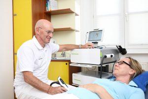 Orthopädiezentrum am Venet Haus –Tätigkeitsbereich Schmerztherapie, Stoßwellen